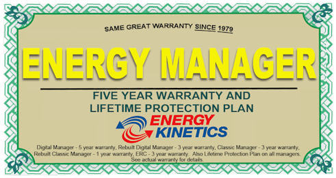 Boiler Energy Manager Warranty