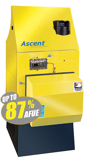 Ascent Combi Tankless Coil Replacement Boiler