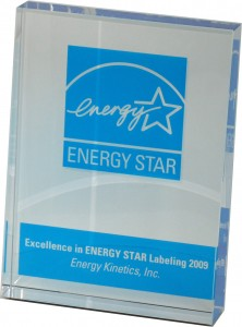 2009 Energy Star Award for Excellence