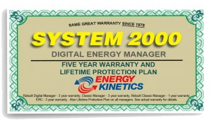 Energy Kinetics Manager Warranty