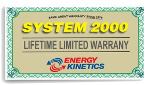 Energy Kinetics Warranty